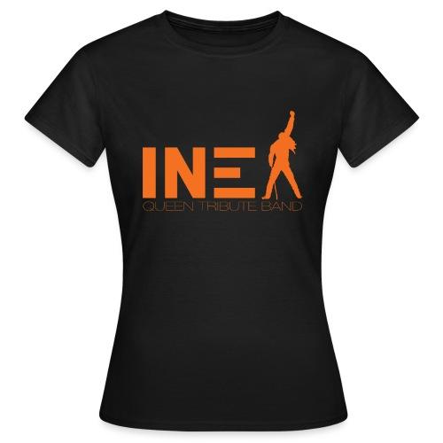 New Logo INEX sans fond orange QUEEN TRIBUTE BAND - T-shirt Femme
