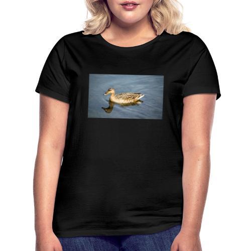 Ente im Wasser - Frauen T-Shirt