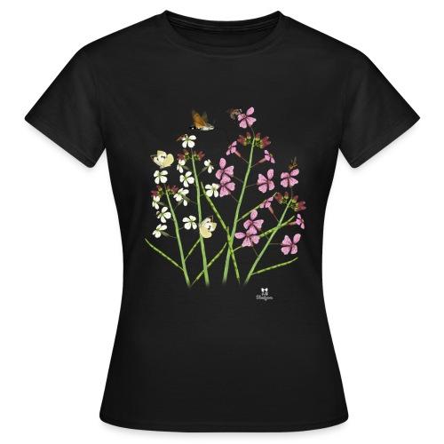 Plasticidad fenotípica en Moricandia arvensis - Camiseta mujer