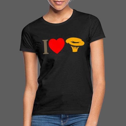 I LOVE FUNGO tema chiaro russula - Maglietta da donna