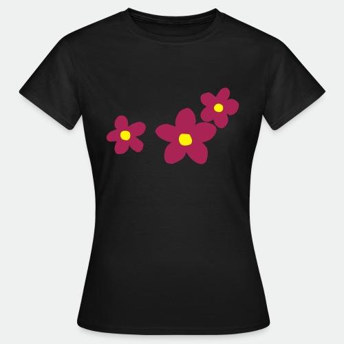 Three Flowers - Women's T-Shirt