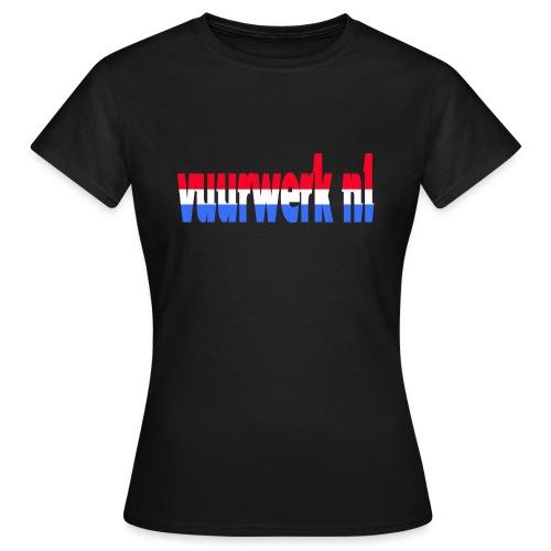 vuurwerk nl fan kleding - Vrouwen T-shirt