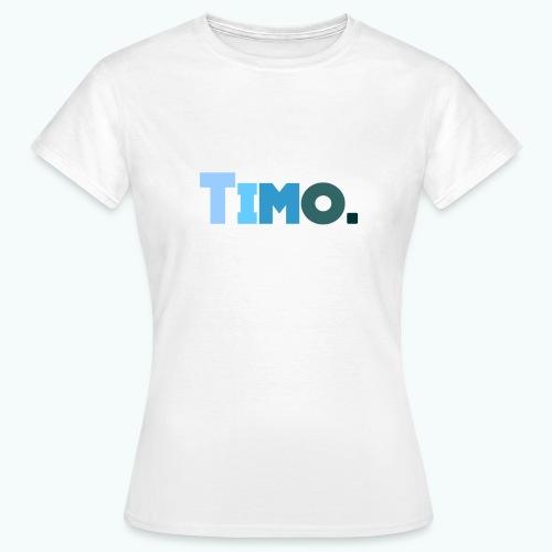Timo in blauwe tinten - Vrouwen T-shirt