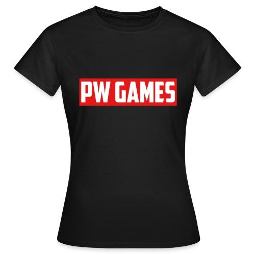 PW Games Tekst - Vrouwen T-shirt