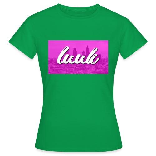 Box Logo Roze - Vrouwen T-shirt