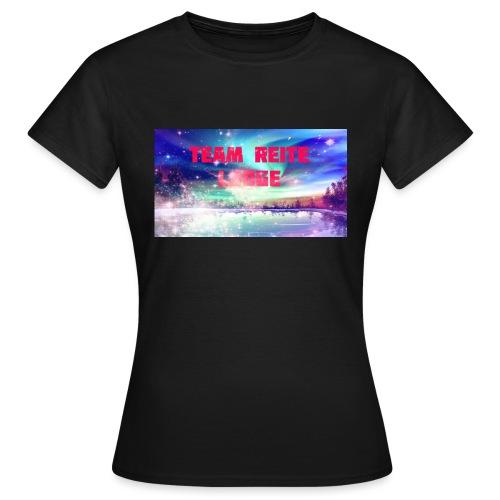 Team Reite Lodge Caps - T-skjorte for kvinner