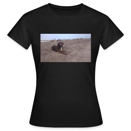 Chocolate en la playa - Camiseta mujer