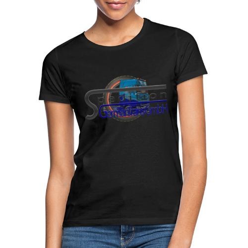 Firmenlogo der Spedition GermanTrans GmbH - Frauen T-Shirt