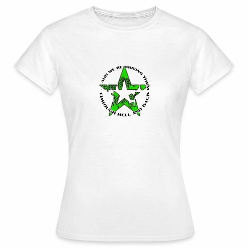 ra star slogan slime png - Frauen T-Shirt
