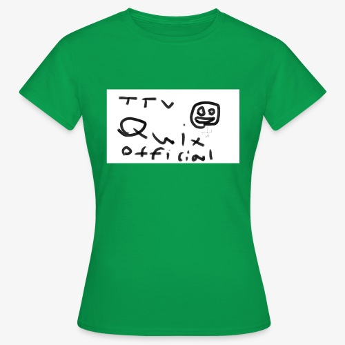 Ful teckning - T-shirt dam
