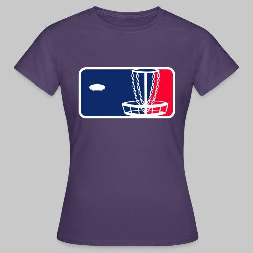 Major League Frisbeegolf - Naisten t-paita