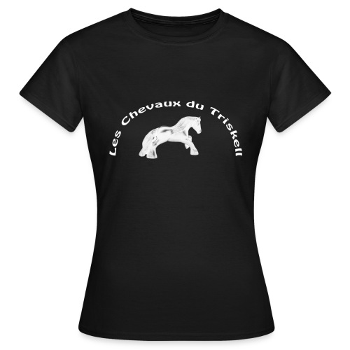 Logo LCDT Blanc - T-shirt Femme