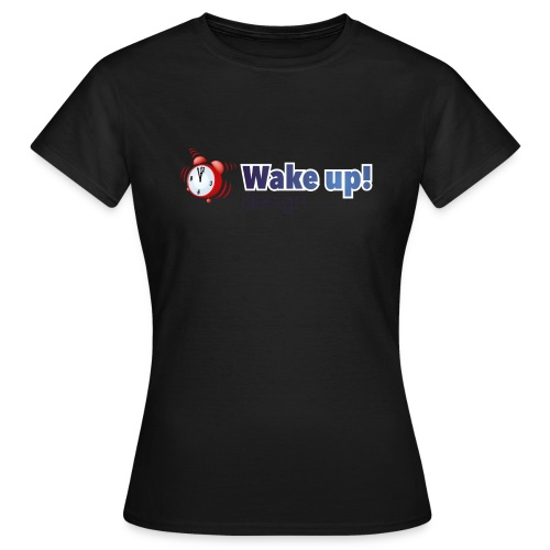 Logo zonder boog blauw - Vrouwen T-shirt