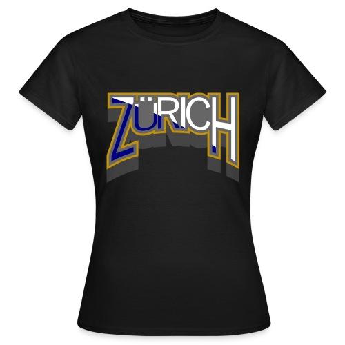 zuerich - Frauen T-Shirt