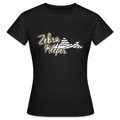 Zebra Keeper - T-shirt Femme
