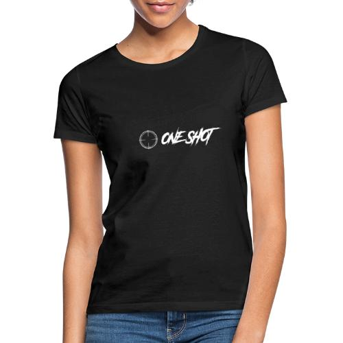 ONESHOT logo + text - Women's T-Shirt