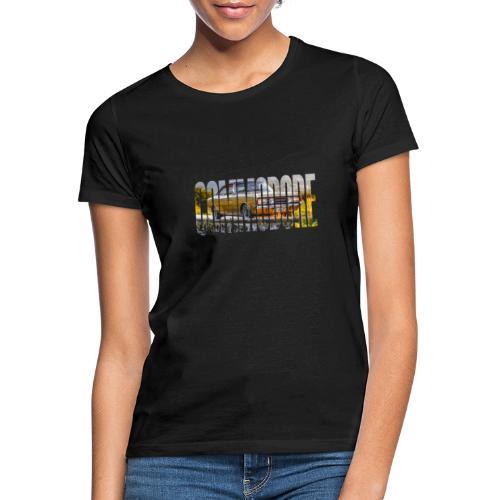 rekord commo word design - Vrouwen T-shirt