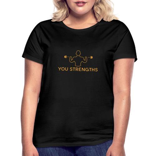 youStrengths Final PNG transparent Logo 2 - Maglietta da donna