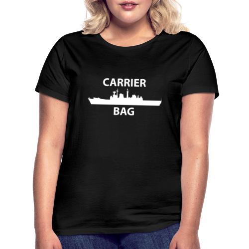 carrier bag white - Women's T-Shirt