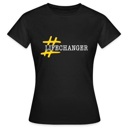 lifechanger logo - Maglietta da donna