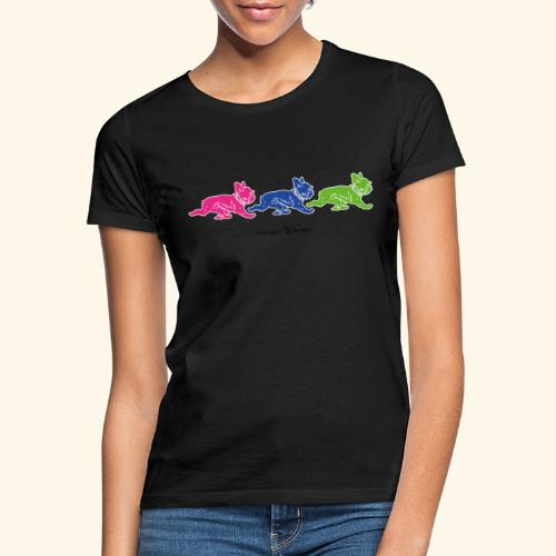 frenchies multicolor - T-shirt Femme