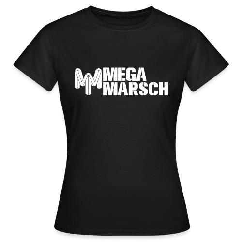 Megamarsch Logo (weiß) - Frauen T-Shirt