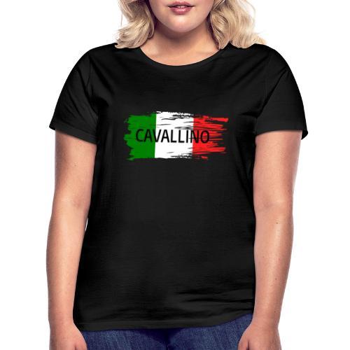 Cavallino auf Flagge - Frauen T-Shirt