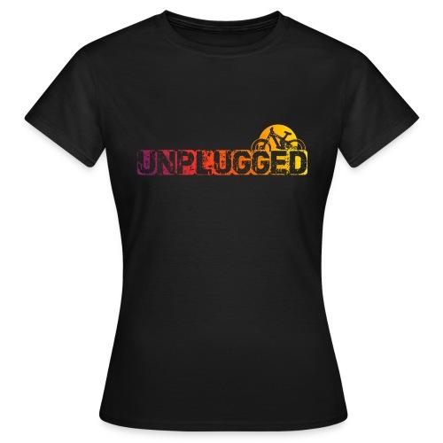 Unplugged Sundown - Frauen T-Shirt
