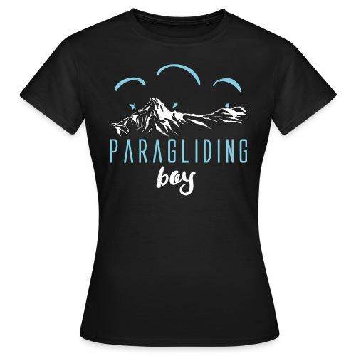 Paragliding Paragleiter Gleitschirm - Frauen T-Shirt