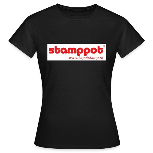 STAMPPOT white background - Vrouwen T-shirt