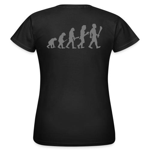 gaa evolution artwork2 - Women's T-Shirt