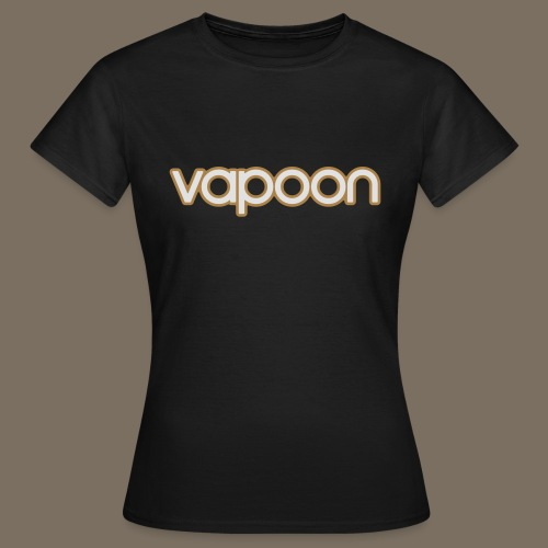 Vapoon Logo simpel 2 Farb - Frauen T-Shirt