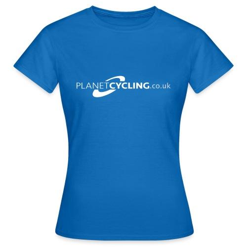 Planet Cycling Web Logo - Women's T-Shirt