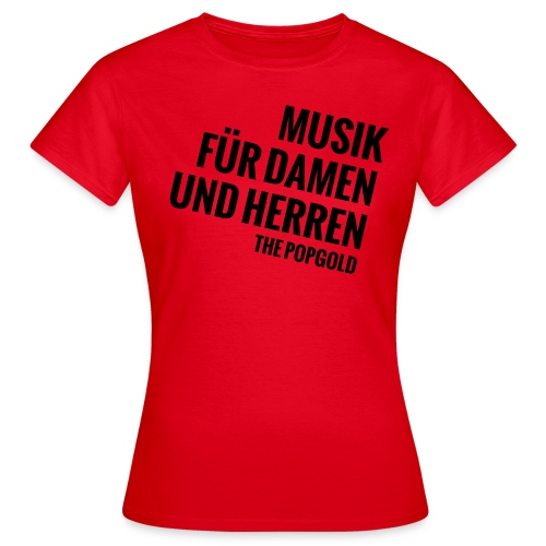 musik - Frauen T-Shirt
