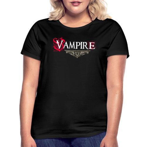 Vampire - Maglietta da donna