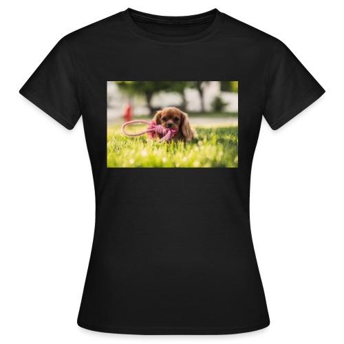 Hunden - T-shirt dam