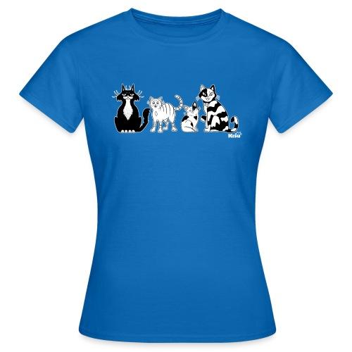 Ryhma mustavalko - Naisten t-paita