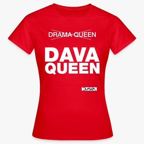 DAVA Queen - white - Women's T-Shirt