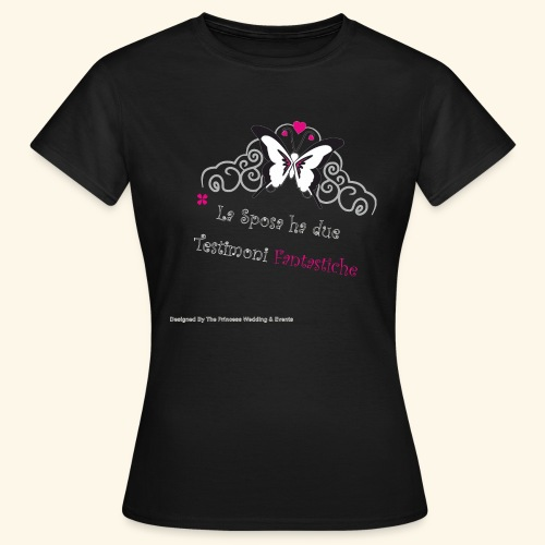 Testimoni Nozze - Maglietta da donna