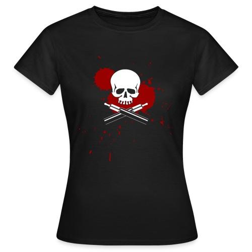 vapeskull on black - Frauen T-Shirt