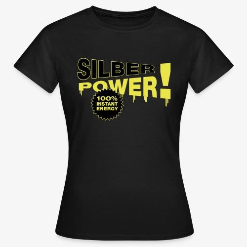 SilberPower! - Dame-T-shirt