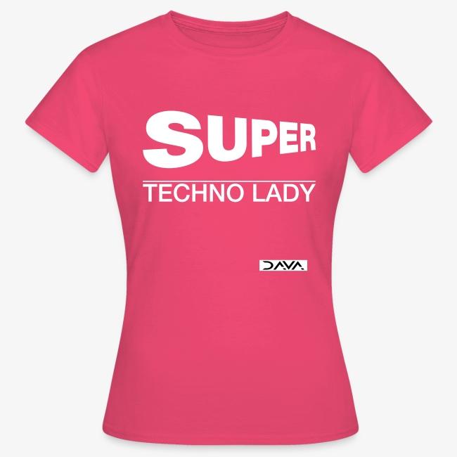 Techno Lady - white