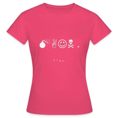 VIBE. x leeson. 'majn.' Design - Women's T-Shirt