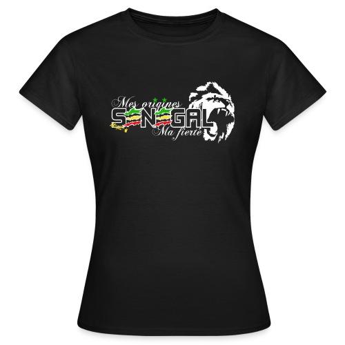 logo senegal png - T-shirt Femme