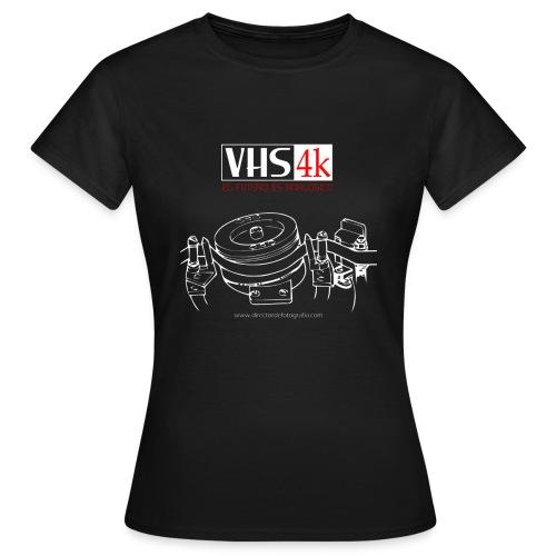 VHS 4K - Camiseta mujer