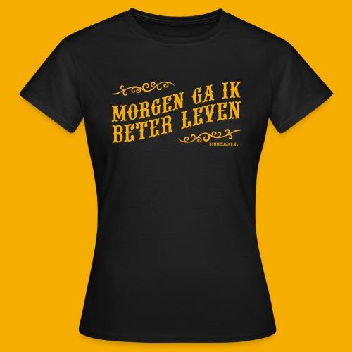 morgen3 - Vrouwen T-shirt