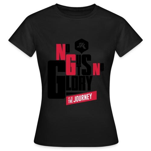 NGNG: 2 Toned / White - Women's T-Shirt