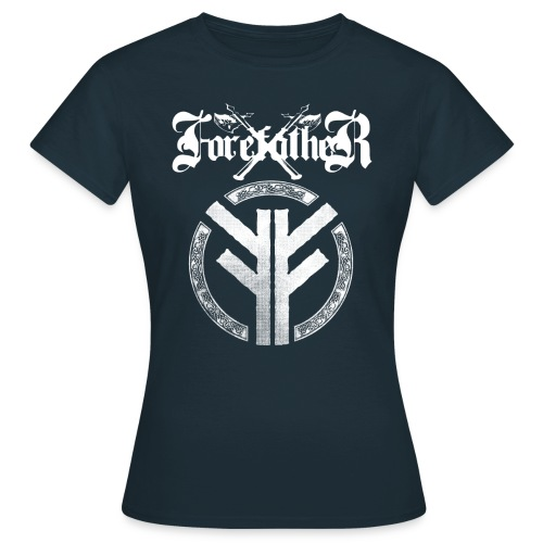 Forefather logo and symbol white - Women's T-Shirt