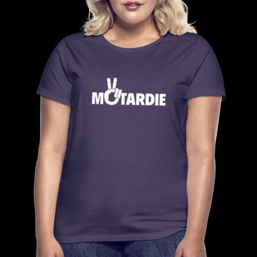 Motardie BLANC - T-shirt Femme