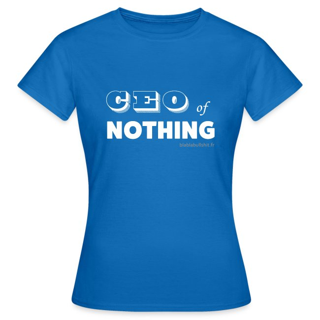 CEO of nothing
